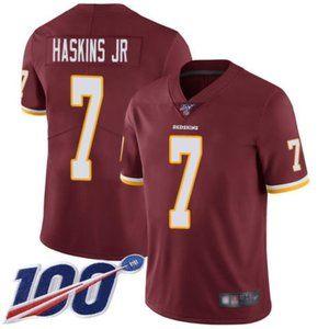 Washington Redskins Dwayne Haskins 100th Jersey3